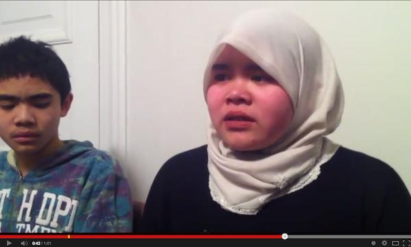Pengakuan Aishah dan Ammar, anak pasangan Shalwati dan Azizul, atas hukuman penjara di Sweden. Pasti menitis air mata kita semua.