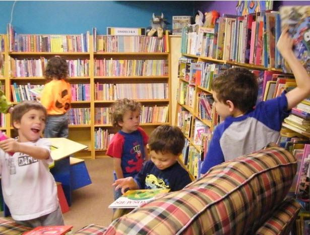 Biarkan anak 'terrorize' kedai buku dan perpustakaan