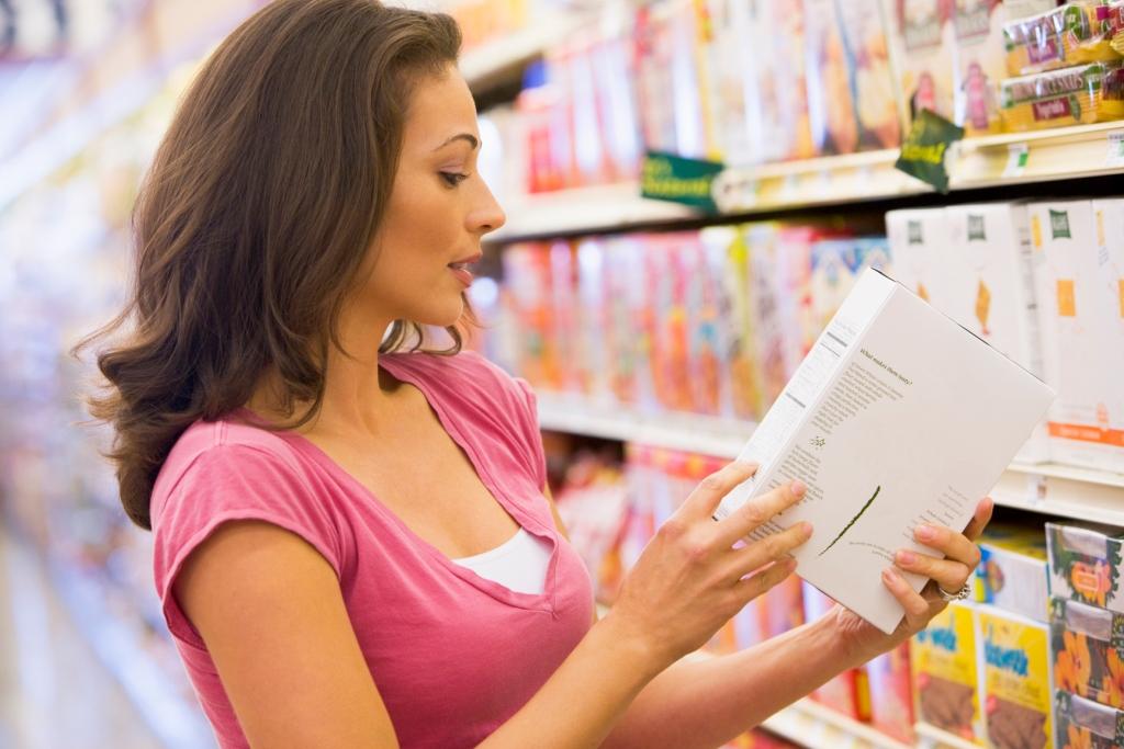 baca label makanan sihat