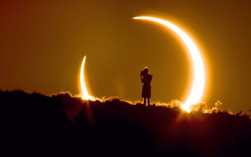 solat sunat gerhana matahari